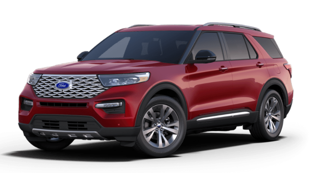 New 2020 Ford Explorer Platinum SUV for sale near you in Lakewood, CO